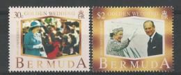 BERMUDA 1997 GOLDEN WEDDING SET MNH - Bermuda