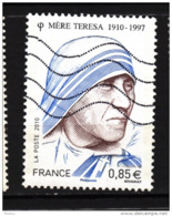 France, Mère Teresa, Prix Nobel De La Paix, Peace Nobel Prize, Femme, Woman - Mutter Teresa
