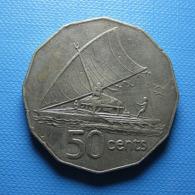 Fiji 50 Cents 1975 - Fiji