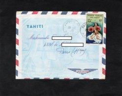 LSC 1965 - Cachet PAPEETE - ILE TAHITI  Sur YT PA 7 - French Polynesia
