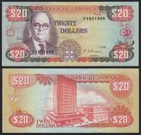JAMAIKA - JAMAICA 20 Dollars Banknote 1991 Pick 72d VF (3)  (21510 - Banknotes