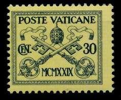 VATIKAN Nr 3 Ungebraucht X7C4956 - Vaticano (Ciudad Del)