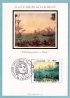 Carte Maximum 1982 - Claude Gellé Dit Le Lorrain - Embarquement à Ostic - YT 2211 - 88 Charmes - 1980-89