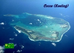 Cocos (Keeling) Atoll Aerial View New Postcard Kokosinsel AK - Kokosinseln (Keeling Islands)