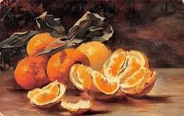 Still Life Art Painting, Peeled Oranges Fruits (S. Hildesheimer) 1905 - Illustrateurs & Photographes