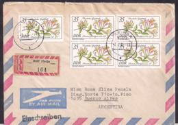 DDR - 1981 - Brief - Argentinien - DDR