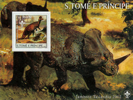 Sao Tome 2003   Dinosaurs - Sao Tome And Principe