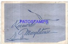 123481 ARGENTINA MAR DEL PLATA ART MULTI VIEW CARD POSTAL POSTCARD - Argentina