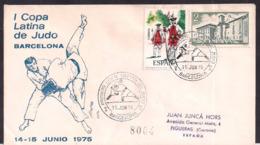 España - 1975 - Cachets Spéciaux - I Judo Latin Cup - Barcelone - Judo