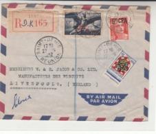 Reunion / Airmail / G.B. - France