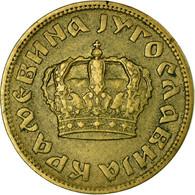 Monnaie, Yougoslavie, Petar II, Dinar, 1938, TB+, Aluminum-Bronze, KM:19 - Joegoslavië