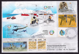 Argentina - 2019 - Dinosaures De L'Antarctique - Plésiosaure - Briefmarken