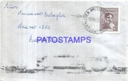 123520 ARGENTINA ENTRE RIOS COVER YEAR 1951 MATASELLO ALDEA PROTESTANTE CIRCULATED TO BS AS NO POSTCARD - Ohne Zuordnung