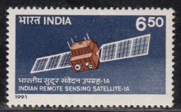 India MNH 1991, Indian Remote Sensing Satellite, Space, - India