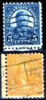 Stati-Uniti-0164 - 1923-26 - Unificato N.403, 408 (o) - Privi Di Difetti Occulti. - Vereinigte Staaten