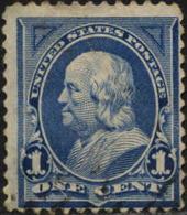 USA Poste Obl Yv:  97 Mi:89b Benjamin Flanklin (Obli. Ordinaire) - Usati