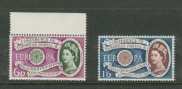 Great Britain, EIIR, 1960, Europa, 6d, 1'6,  MNH ** - 1952-.... (Elizabeth II)