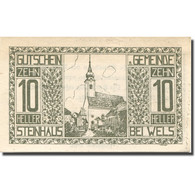 Billet, Autriche, Steinhaus, 10 Heller, Eglise 1920-05-31, SPL, Mehl:FS 1030Ia - Austria