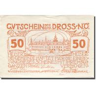 Billet, Autriche, Dross, 50 Heller, Château 1920-12-31, SUP Orange Mehl:FS 135.1 - Austria