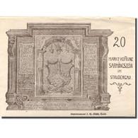 Billet, Autriche, Strudengau, 20 Heller, Monument, 1920 SUP Mehl:FS 914Ib - Austria