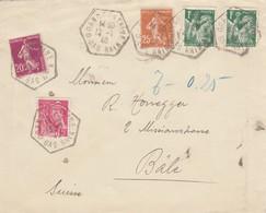 1940: GrandFontaine To Basel - Francia