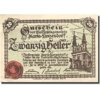 Billet, Autriche, Lanzerdorf, 20 Heller, Eglise 1920-11-30, SPL, Mehl:FS 586a - Austria