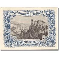 Billet, Autriche, Dichtenstein, 50 Heller, Château 1, SPL Bleu Mehl:FS 127h - Austria