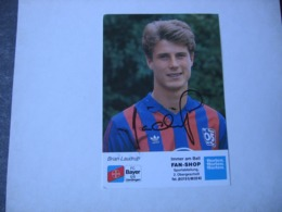Football - Autographe - Carte Signée Brian Laudrup - Soccer