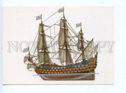 253053 Dygalo Averyanov Ship French Battleship Soleil Royal Old Russian - Other Illustrators