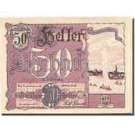 Billet, Autriche, Aschach An Der Donau, 50 Heller, Fleuve, SPL, Mehl:FS 53IIb1 - Austria