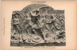 31ol 1832 CPA - CASTELFRANC - BAS-RELIEF DU MONUMENT LAVAYSSIERE - France
