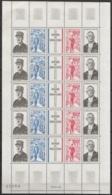 France - N°1698A Feuille Complète ** Anniversaire Mort Général De Gaulle - 1939-45