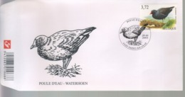 BUZIN / FDC / COB 3212 / POULE D'EAU - 1985-.. Oiseaux (Buzin)