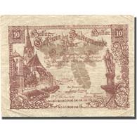 Billet, Autriche, Ybbs, 10 Heller, Eglise, 1920, 1920-12-31, TB, Mehl:FS 1258a - Austria