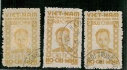 24379 - 3 TP Avec Divers - Vietnam