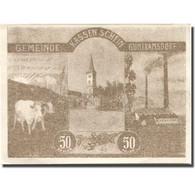 Billet, Autriche, Guntramsdorf, 50 Heller, Usine 1920-08-31, SPL Mehl:FS 310c - Austria
