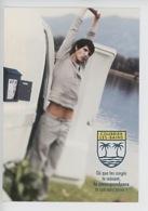 La Poste : Courrier Les Bains (vacances Homme Caravane Boite à Lettres) - Poste & Facteurs