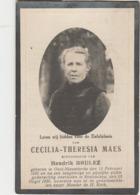 Oost-Nieuwkerke, Roeselare, 1930, Cecilia Maes, Brulez - Devotieprenten