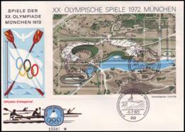 Germany - 1972 I - Olympic Games 1972  - FDC - Estate 1972: Monaco
