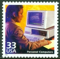 UNITED STATES OF AMERICA 2000 CELEBRATE THE CENTURY, 1980's, PERSONAL COMPUTERS** (MNH) - Estados Unidos