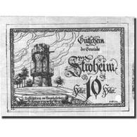 Billet, Autriche, Stroheim, 10 Heller, Tour 1, SPL Bleu Mehl:FS 1050Ia - Austria