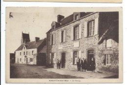 Anneville Sur Mer , Le Bourg ,epicerie Restaurant - France