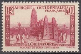 N° 118 - X X - ( C 1801 ) - Ivory Coast (1892-1944)