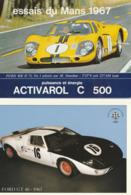 Sport Automobile - FORD - 2 CP : Ford MK II 7 L Le Mans 1967 - Ford GT 40 1967 - Grand Prix / F1