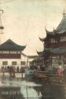SHANGHAI - CHINESE TEA TIA HOUSE IN NATIVE CITY   HONG KONG STAMP CHINA CHINE - China