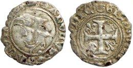 FRANCE MÉDIÉVALE - Charles VIII [1483-1498] - Liard Au Dauphin - Poitiers (point 8e) (2e émission, Duplessy 600A, 0,80 G - 1483-1498 Charles VIII. L'Affable