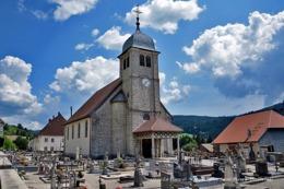 La Cluse-et-Mijoux (25)- Eglise Saint-Pierre (Edition à Tirage Limité) - Francia