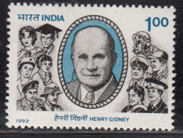 India MNH 1992, Albert John Gidney, Eye Surgeon, Opthomologist, Health, Medicine, - India