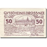 Billet, Autriche, Dross, 50 Heller, Château 1, 1920 SUP Violet Mehl:FS 135.2 - Austria