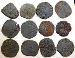 01- FRANCE MÉDIÉVALE - Philippe VI - Lot De 12 Double Tournois (12,35 G) - 987-1789 Monnaies Royales